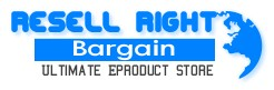 PLR Rights - Resell Right Bargain